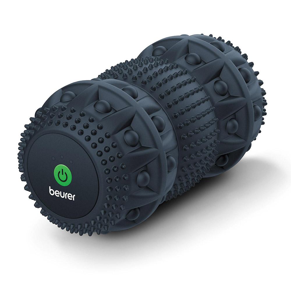 schwarze Beurer Massagerolle mit Vibration MG 35