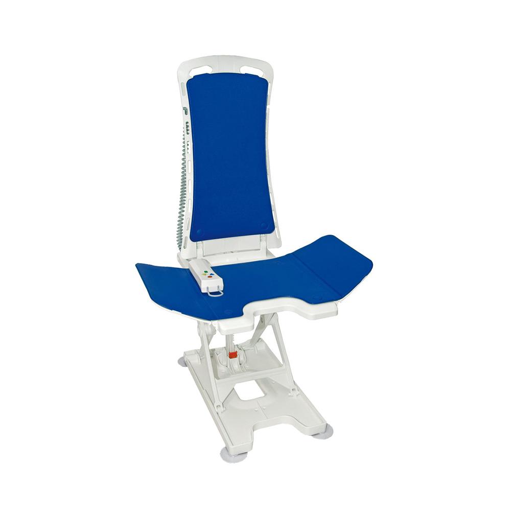 Badewannenlifter Bellavita 2G mit Comfort-Bezug - blau