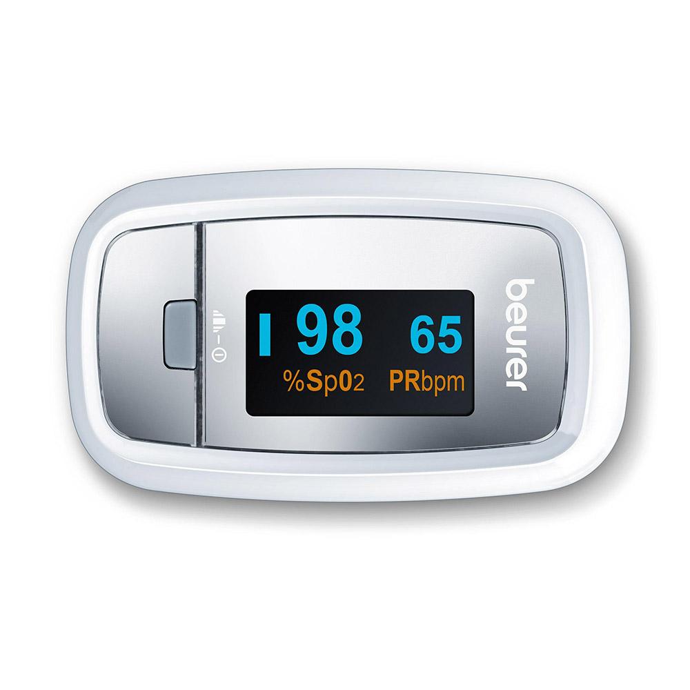 Beurer Pulsoximeter PO 30 von links