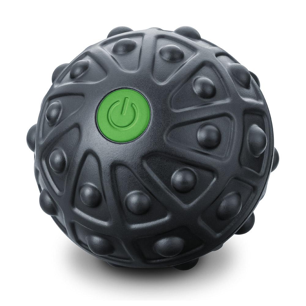eingeschalteter schwarzer Massageball mit Vibration Beurer  MG10