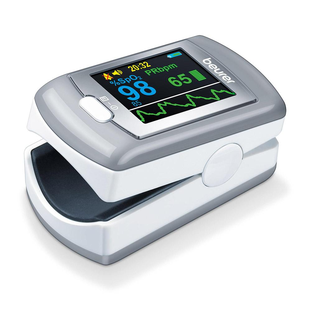 Beurer Pulsoximeter PO 80 grau weiß