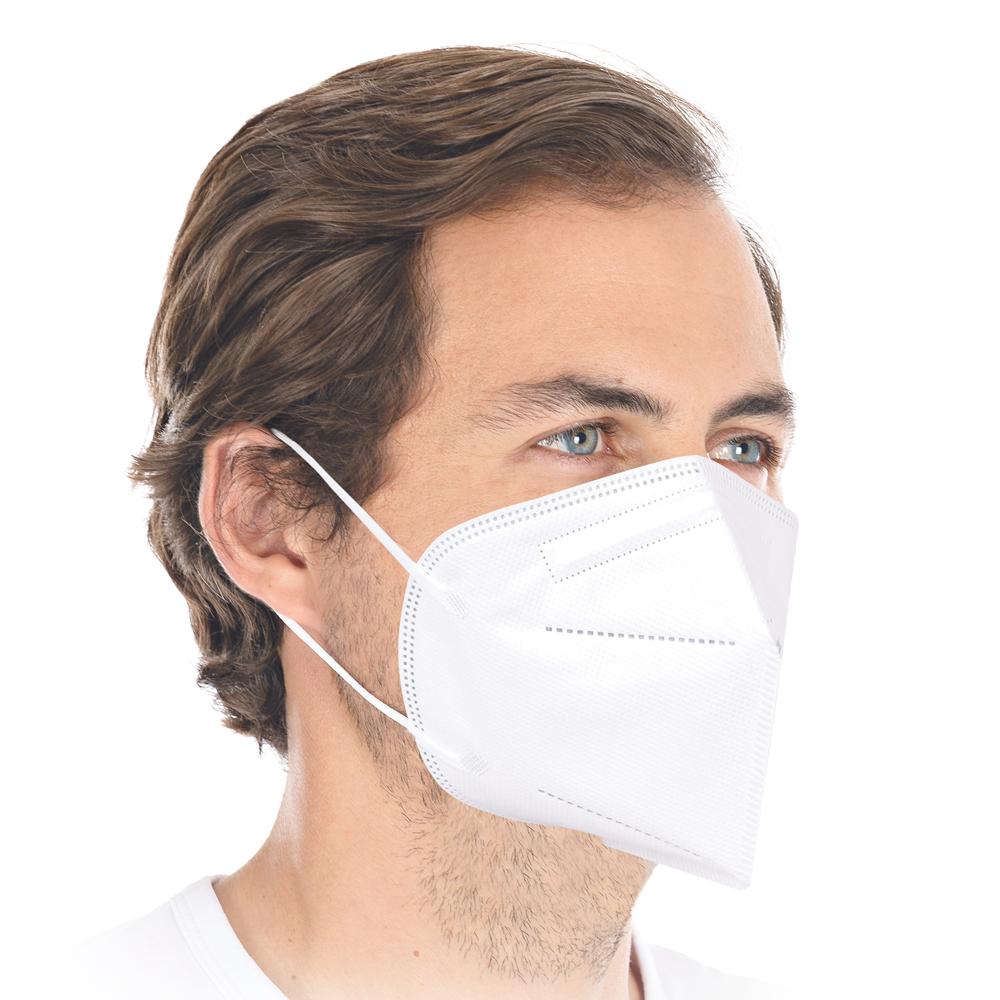 Franz Mensch FFP2 Atemschutzmaske weiß
