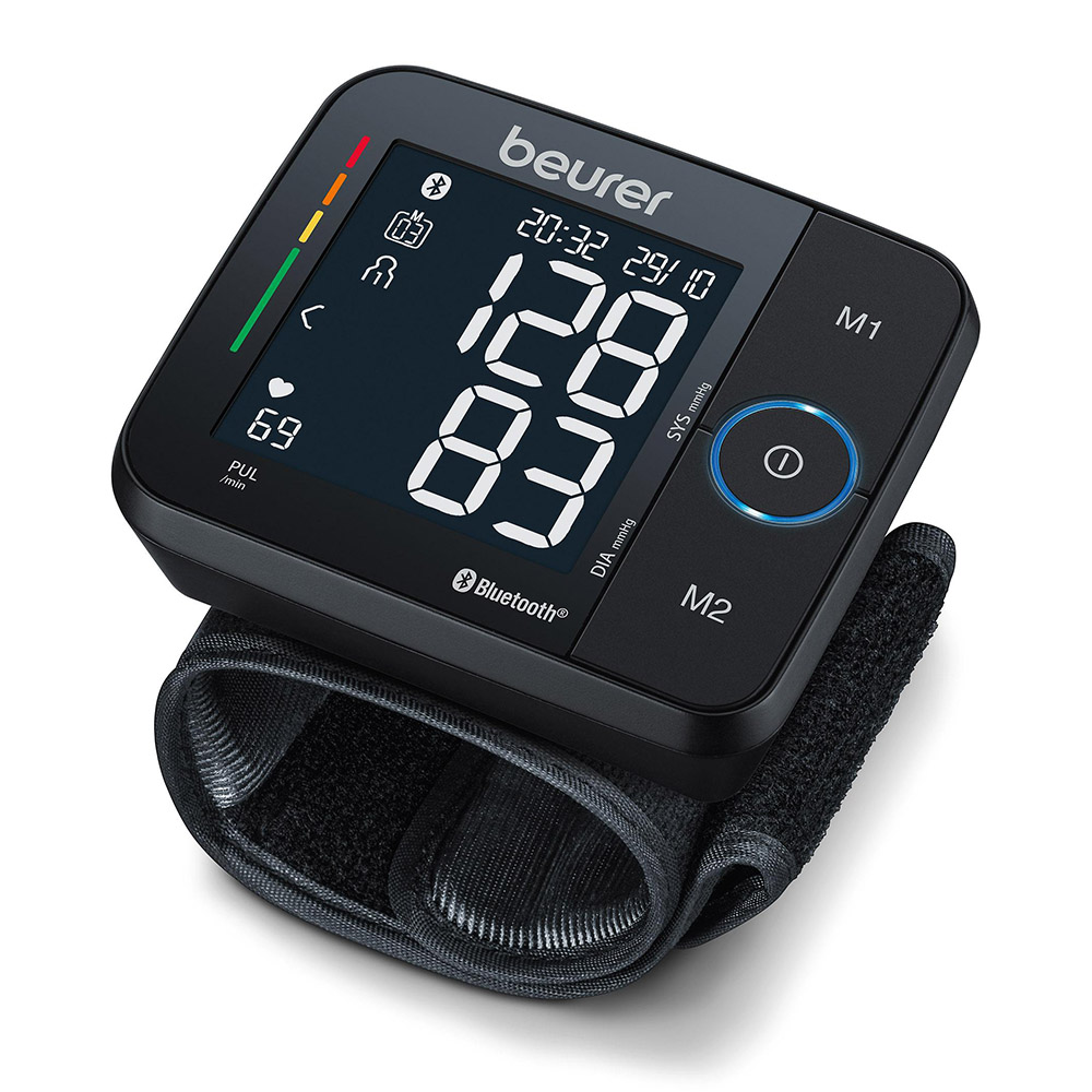 Beurer Handgelenk Blutdruckmessgerät schwarz BC 54