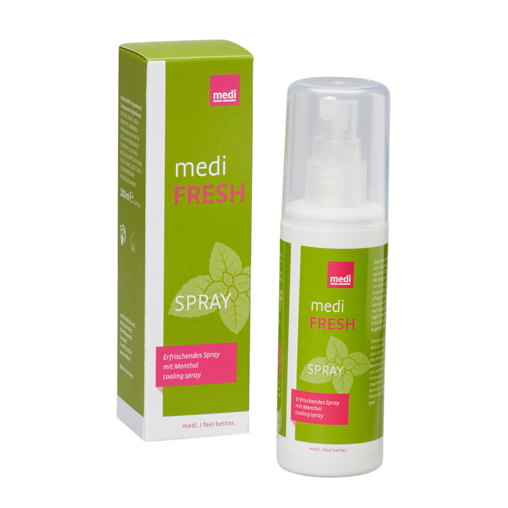 medi Fresh Spray 100 ml Inhalt