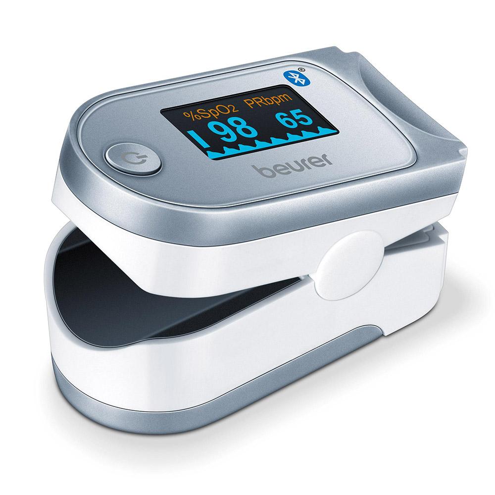 Beurer Pulsoximeter PO 60 weiß grau