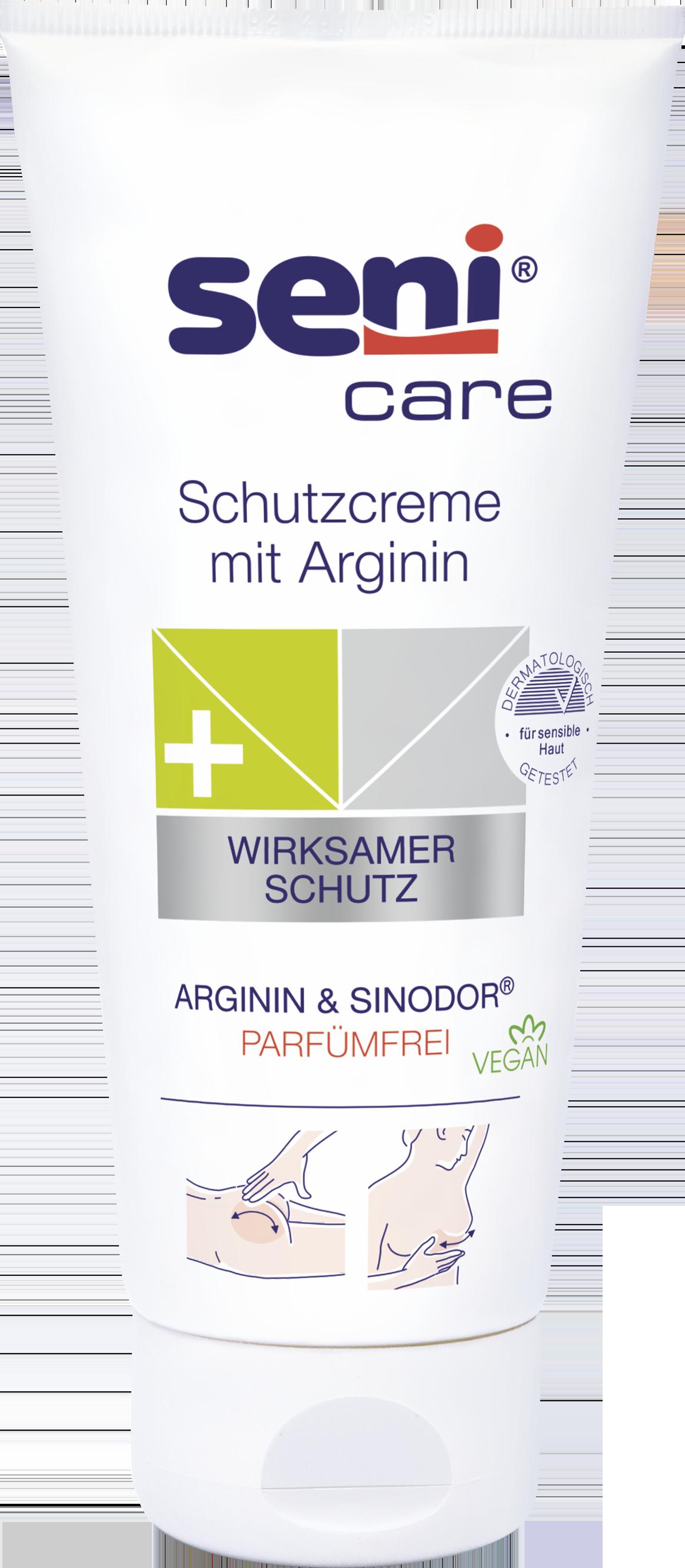 SENI CARE - Hautschutzcreme mit Arginin (parfumfrei)