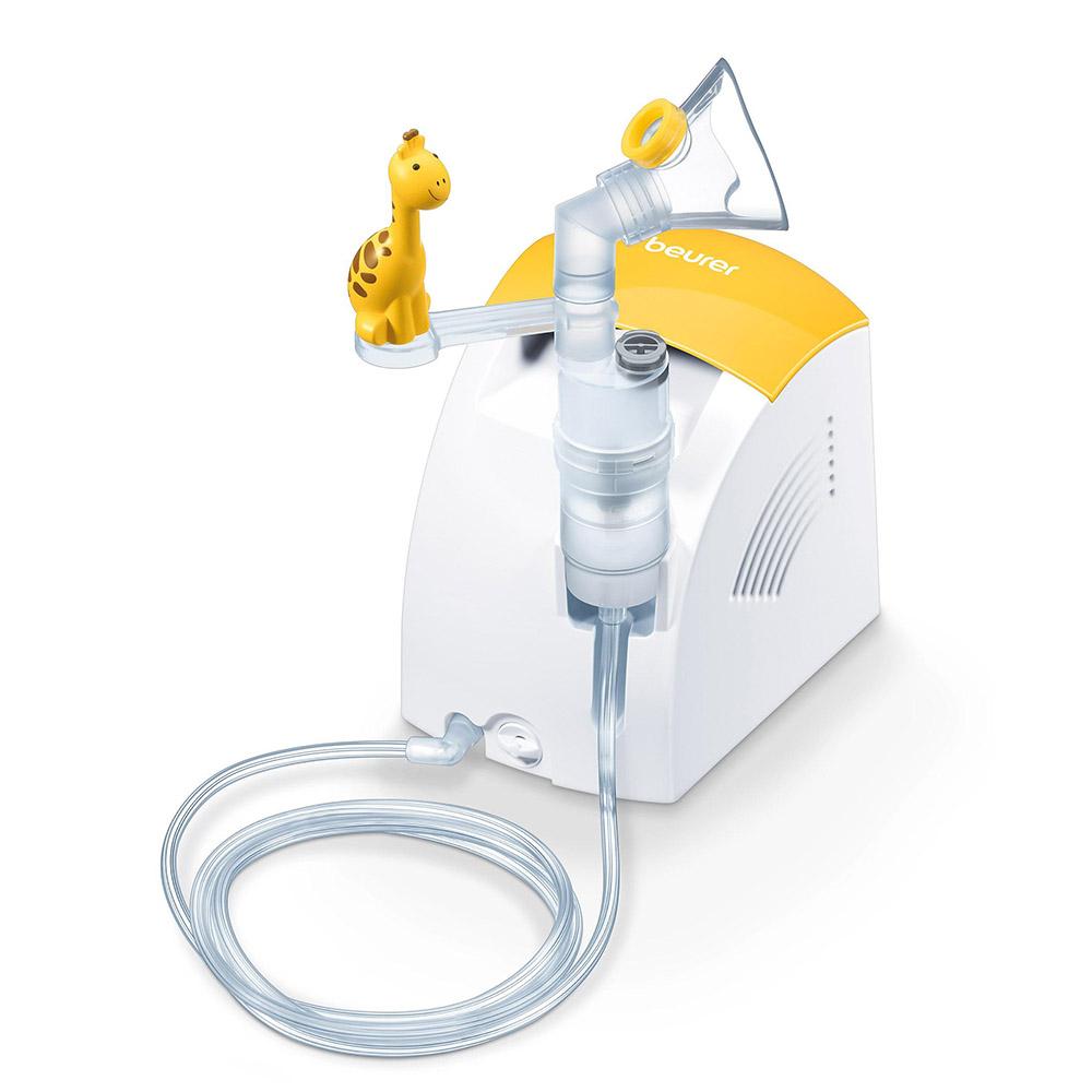 Beurer Inhalator IH 26 weiß gelb für Kinder