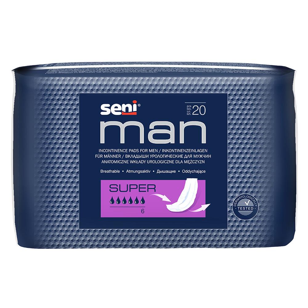 SENI MAN Super Inkontinenzeinlage für Männer
