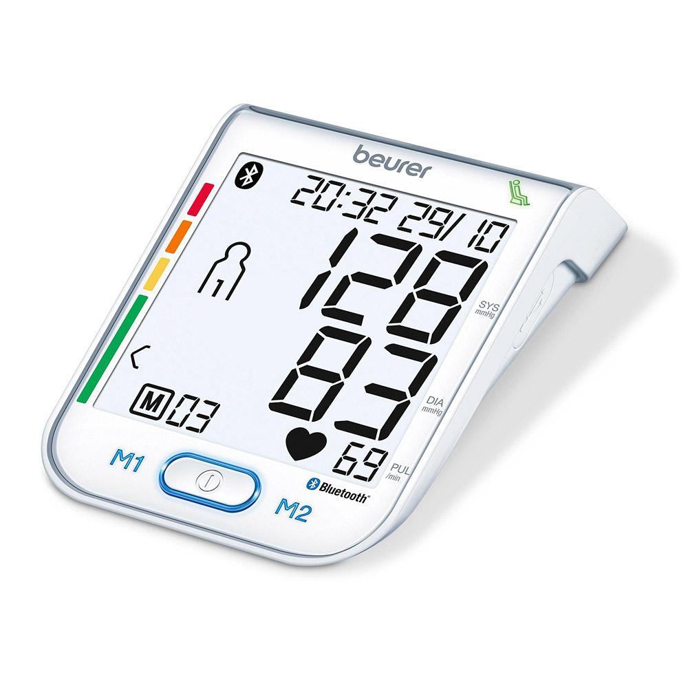 Beurer Oberarm Blutdruckmessgerät BM 77 weiß