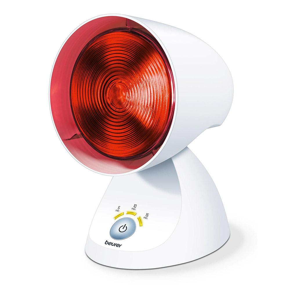 weiße Beurer Infrarotlampe IL 35