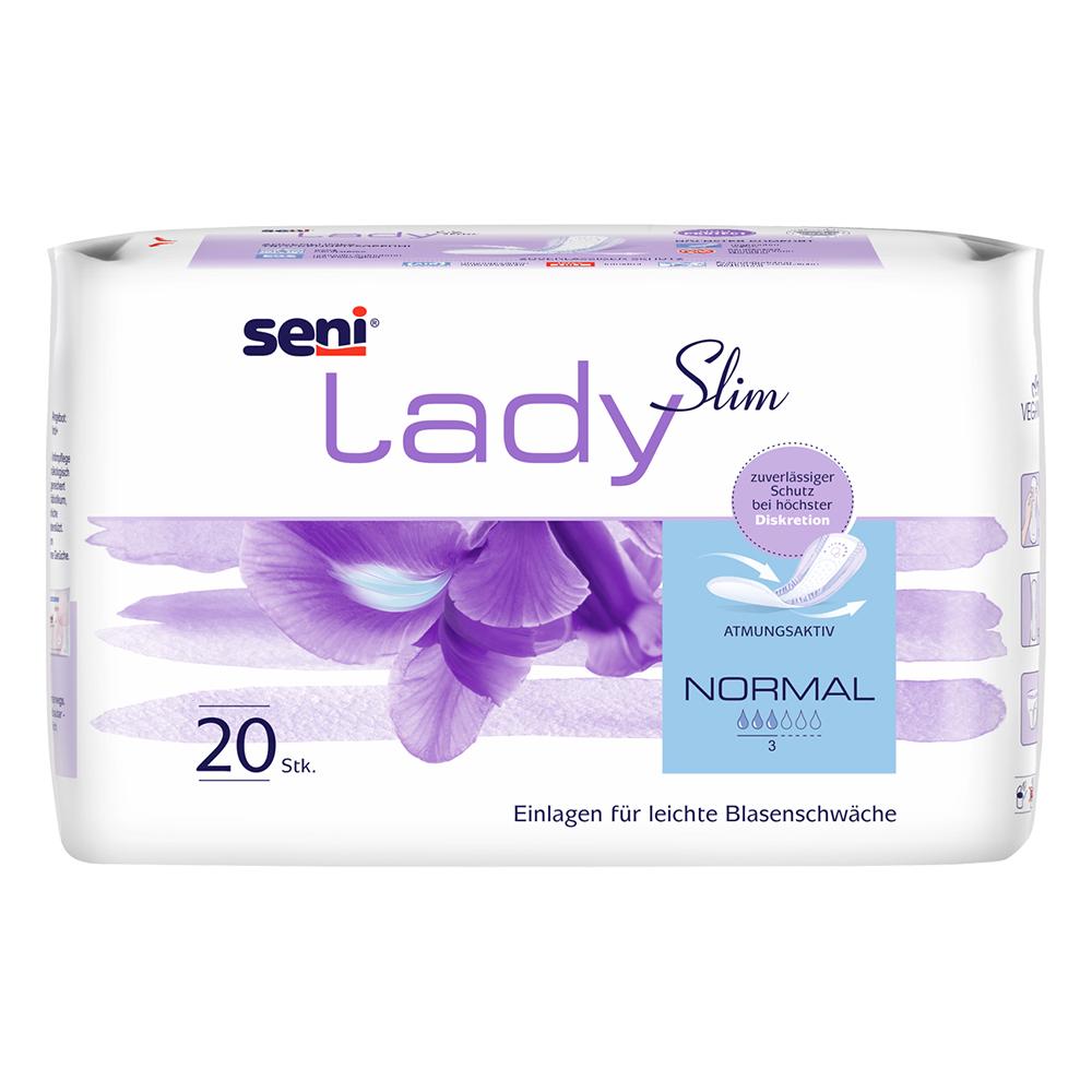 SENI LADY Slim Normal atmungsaktive Einlagen